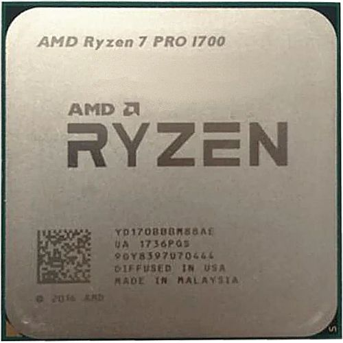 Центральный процессор (CPU) AMD Ryzen 7 Pro 1700 {Summit Ridge} (PGA AM4) [8 cores] L3 16M, 3 ГГц