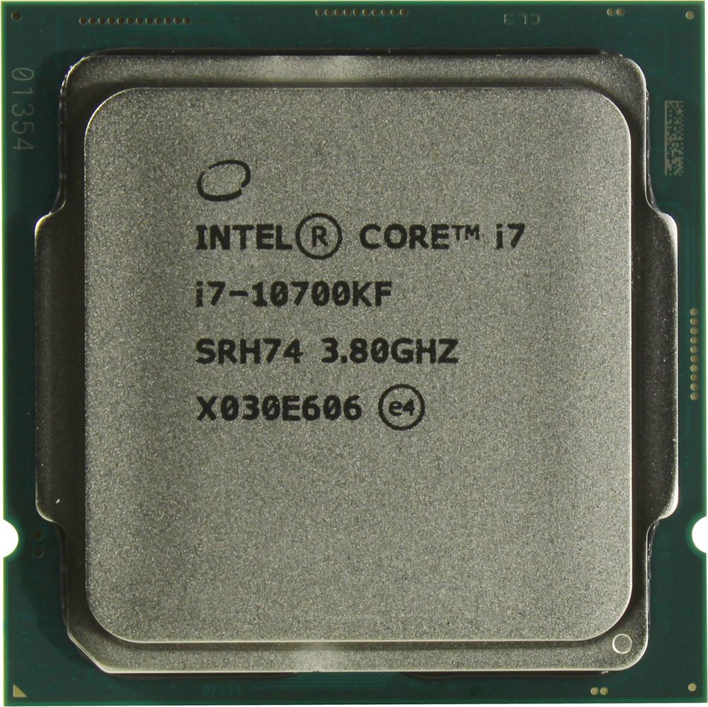 Центральный процессор (CPU) Intel Core i7-10700KF {Comet Lake} (LGA 1200) [8 cores] L3 16M, 3,8 ГГц