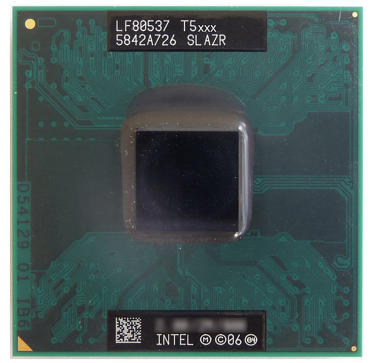 Центральный процессор (CPU) Intel Core 2 Duo T5670 {Merom-2M} (Socket P) [2 cores] L2 2M, 1,8 ГГц