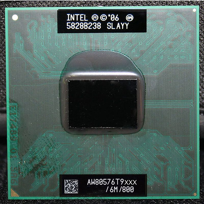 Центральный процессор (CPU) Intel Core 2 Duo T9600 {Penryn} (BGA 479, Socket P) [2 cores] L2 6M, 2,8 ГГц