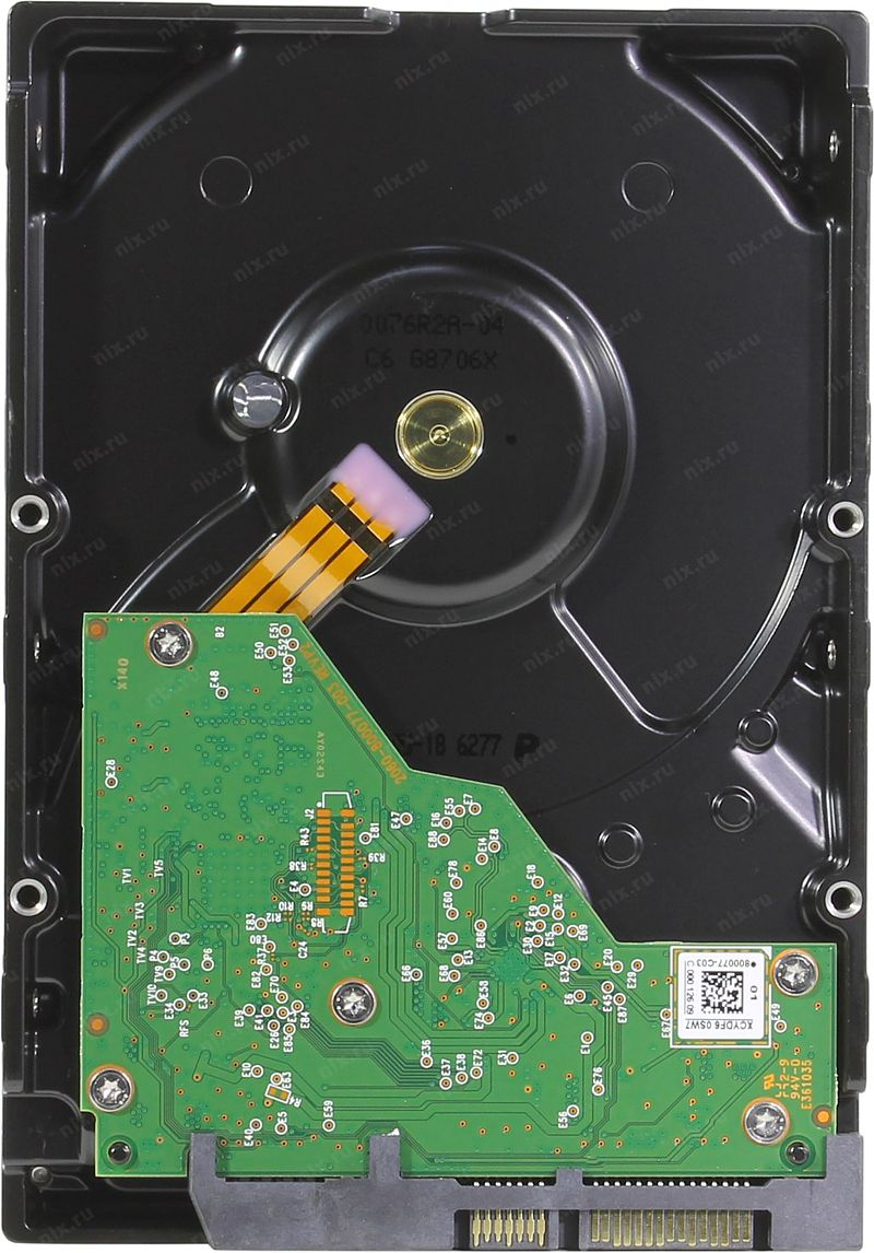 Жесткий диск (HDD) Western Digital Blue WD60EZAZ (SATA 3) 6 Тб