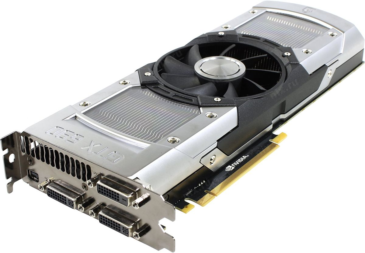 Видеокарта Nvidia GeForce GTX 690 [2xGK104] 4 Гб